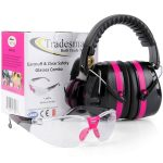 TRADESMART Pink Shooting Earmuffs