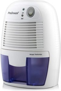 Pro Breeze Electric Mini Dehumidifier, 1200 Cubic Feet